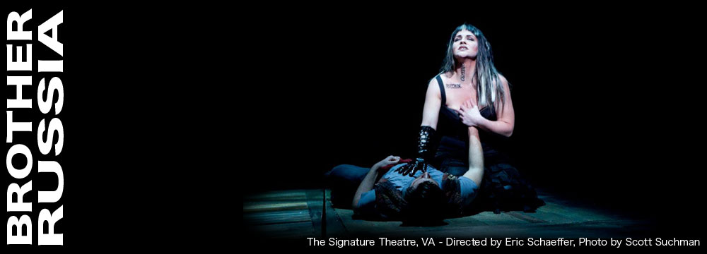 BROTHER RUSSIA at Signature Theatre, VA.  Directed by Eric Schaeffer.  Photo by Scott Suchman.