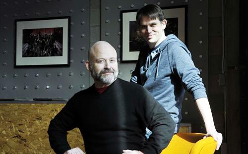 Dana (left) with John Dempsey. Credit: Marvin Joseph/Washingtonpost.com
